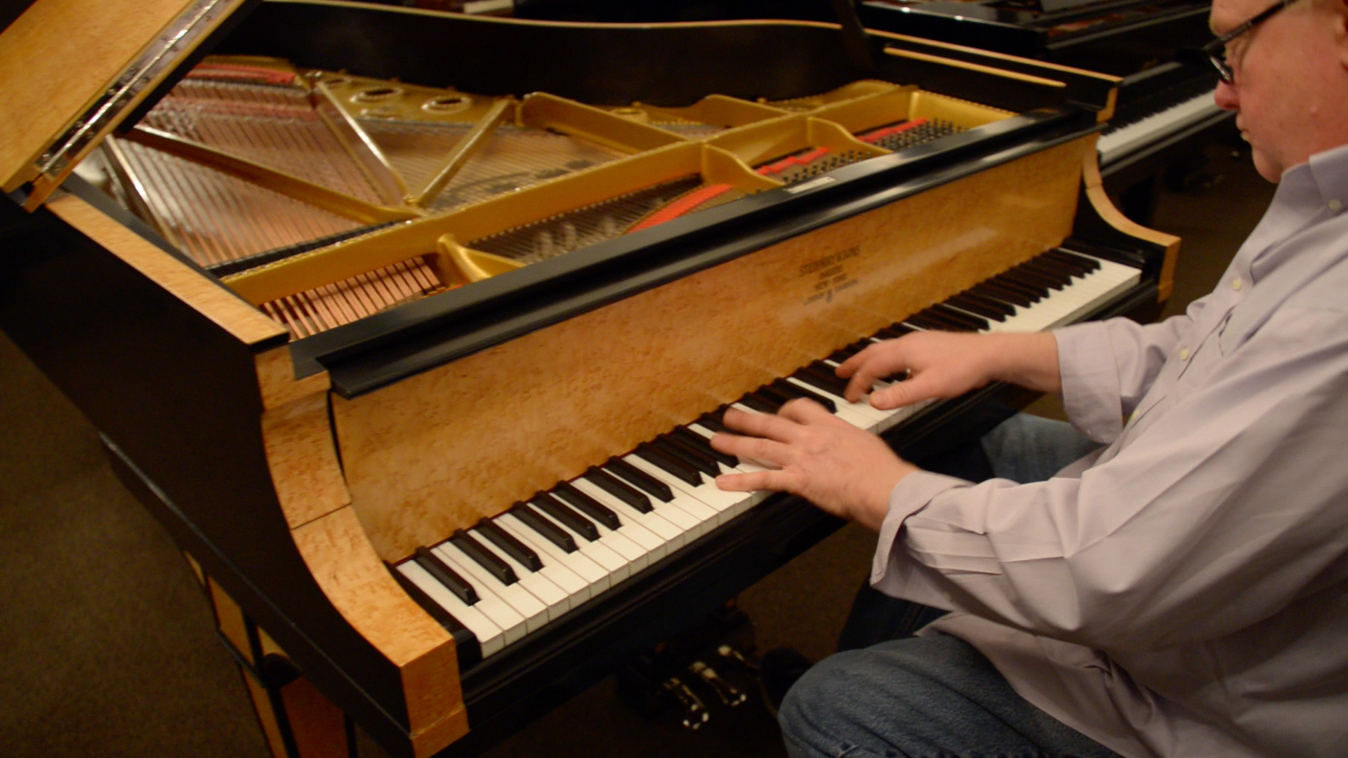 Shawn Plays a Restored Steinway